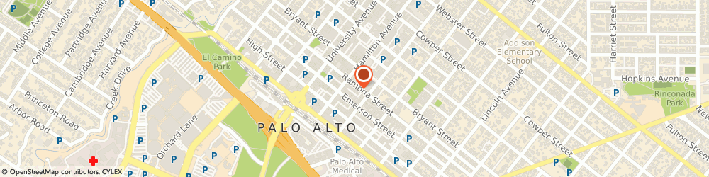 Route/map/directions to Coldwell Banker Clara Lee, 94301 Palo Alto, 630 Ramona St