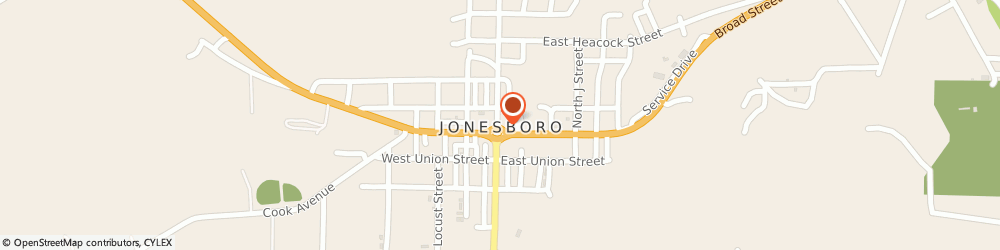 Route/map/directions to Country Financial Mike M Meisenheimer, 62952 Jonesboro, 104 W Broad St Po Box F