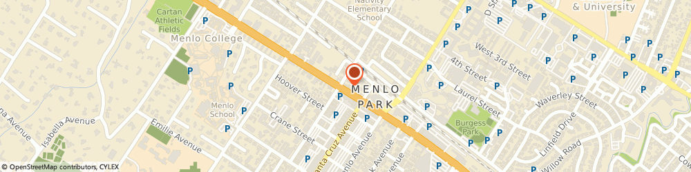 Route/map/directions to FedEx Office Print & Ship Center, 94025 Menlo Park, 1194 El Camino Real