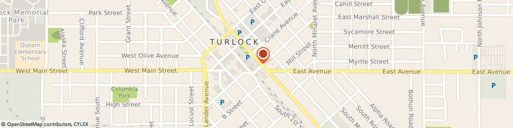 Route/map/directions to Greyhound Package Express - Turlock, 95380 Turlock, 243 S Golden State Blvd