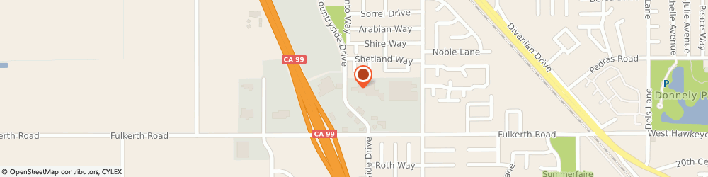 Route/map/directions to Farmers Insurance - Ruby Salazar, 95380 Turlock, 1866 Countryside Dr