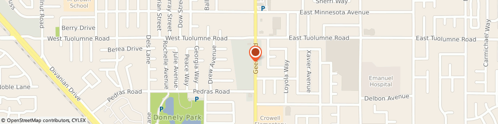 Route/map/directions to Farmers Insurance - Arturo Sanchez, 95382 Turlock, 2111 Geer Rd