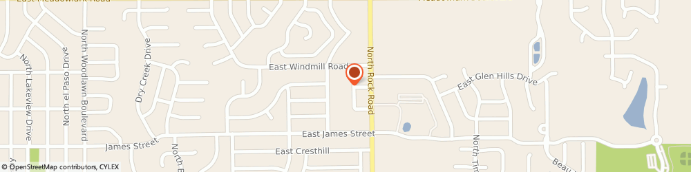 Route/map/directions to Goodwill, 67037 Derby, 1247 Rainbow Dr.