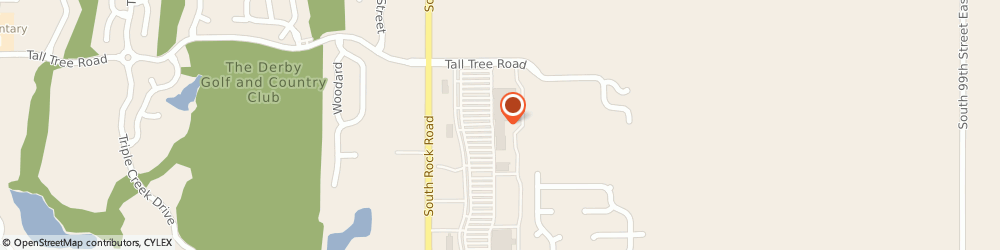 Route/map/directions to Sally Beauty Supply, 67037 Derby, 1942 N. Rock Road Ste 500