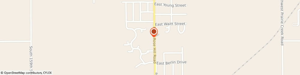 Route/map/directions to Farmers Insurance - Adriene Rhoads, 67133 Rose Hill, 1005 N Rose Hill Rd