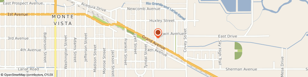 Route/map/directions to Safeco Insurance Agent, 81144-1647 Monte Vista, 321 Stallo St