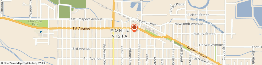 Route/map/directions to Safeco Insurance Agent, 81144-1422 Monte Vista, 126 Adams St