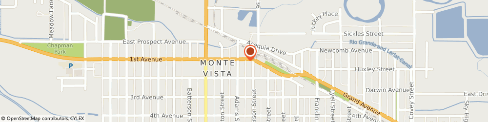 Route/map/directions to Safeco Insurance Agent, 81144-1445 Monte Vista, 920 1St Ave