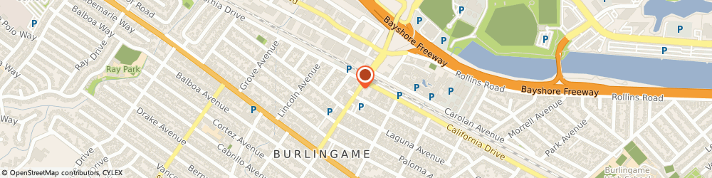 Route/map/directions to Visiting Angels, 94010 Burlingame, 1126 Broadway, #7