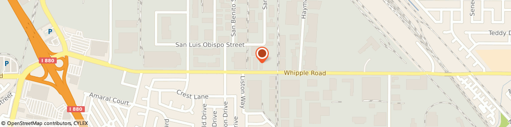 Route/map/directions to Kims Kustom Incorporated, 94544 Hayward, 1651 Whipple Rd, Unit 30