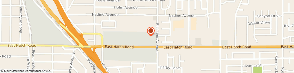 Route/map/directions to Supercuts, 95351 Modesto, 1633 Hatch Rd