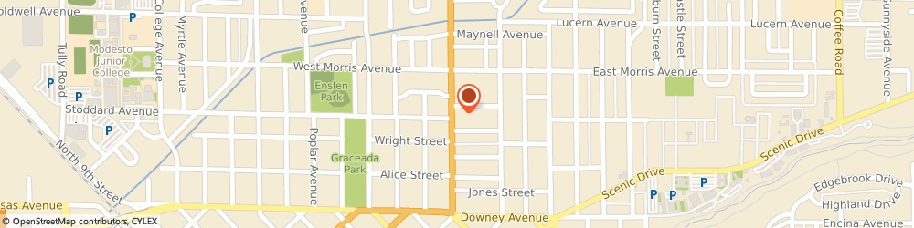 Route/map/directions to Midas, 95354 Modesto, 338 McHenry Avenue