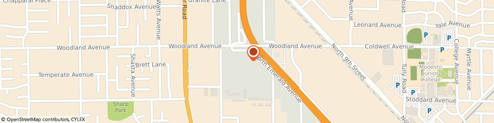 Route/map/directions to Fastenal, 95351 Modesto, 1295 N. Emerald Ave.
