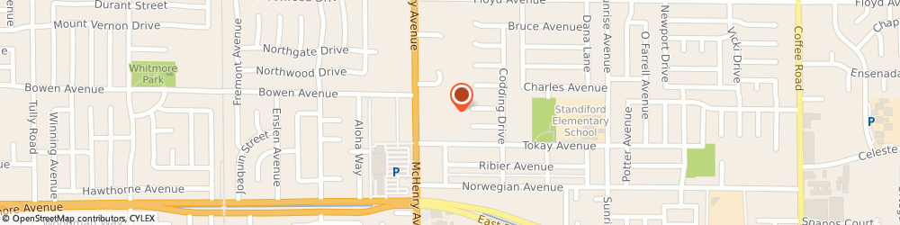 Route/map/directions to PetSmart, 95350 Modesto, 2100 McHenry Ave
