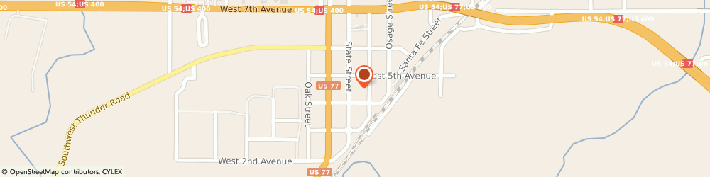 Route/map/directions to Safeco Insurance Agent, 67010-1106 Augusta, 416 State St