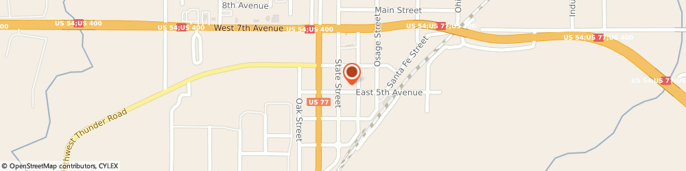 Route/map/directions to Farmers Insurance - Katie Smith, 67010 Augusta, 504 State St