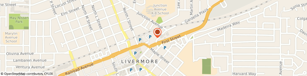 Route/map/directions to Domino's Pizza, 94550 Livermore, 2566 Old First St