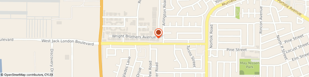 Route/map/directions to Superior Mechanical Services, 94551 Livermore, 347 Wright Brothers Ave
