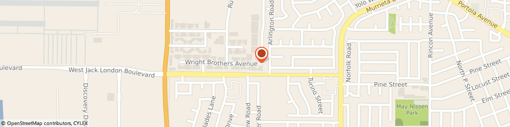Route/map/directions to L i Metal Systems, 94550 Livermore, 347 WRIGHT BROTHERS AVE