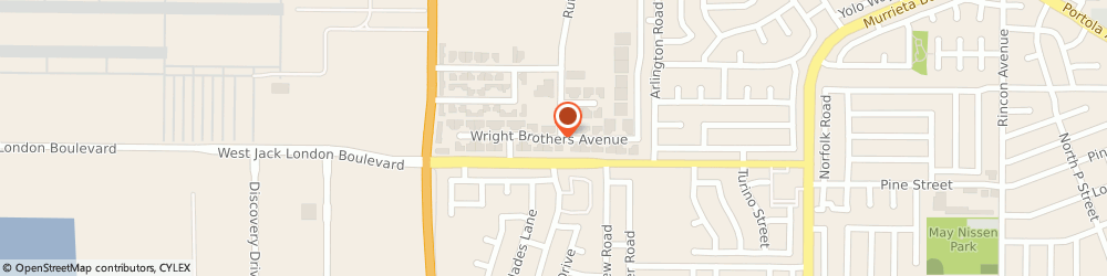 Route/map/directions to Ideal Computer Services, 94551 Livermore, 88 Wright Brothers Avenue