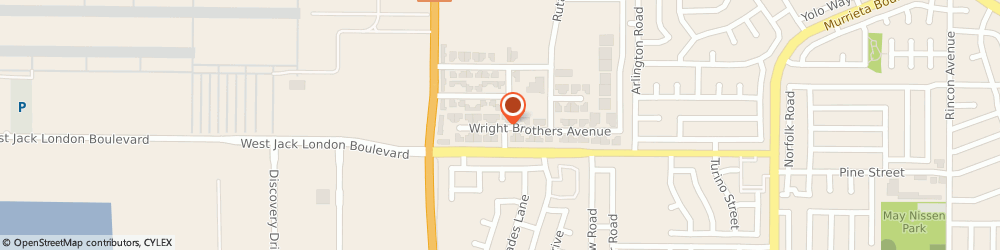 Route/map/directions to Uniframe Windows & Siding Incorporated, 94551 Livermore, 81 WRIGHT BROTHERS AVENUE