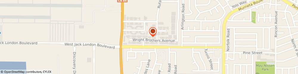 Route/map/directions to Specialty Cellular Products Co., 94550 Livermore, 136 WRIGHT BROTHERS AVENUE,