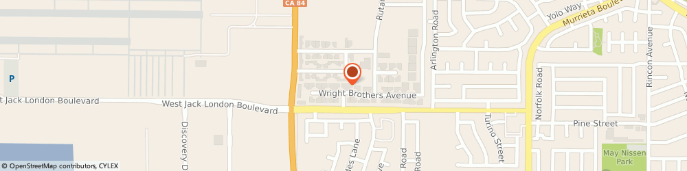 Route/map/directions to Aria Technologies Incorporated, 94551 Livermore, 102 WRIGHT BROTHERS AVENUE