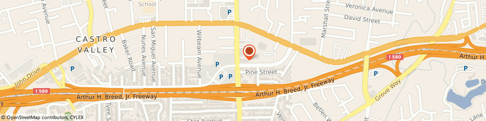 Route/map/directions to Samantha Harris - State Farm Insurance Agent, 94546 Castro Valley, 21060 Redwood Road Suite 150