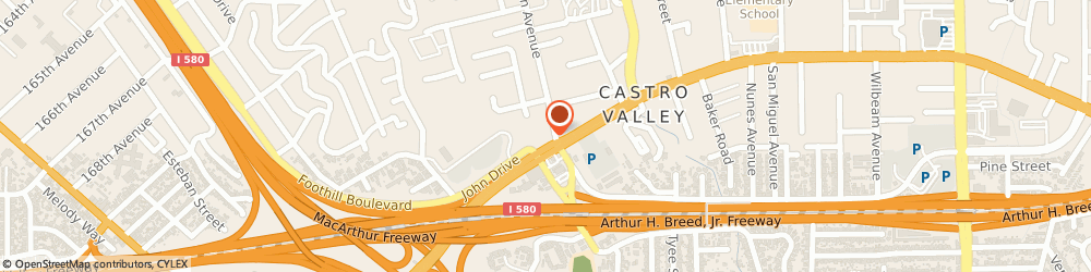 Route/map/directions to Jiffy Lube, 94546 Castro Valley, 2492 Castro Valley Blvd