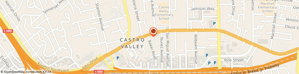 Route/map/directions to Marsha Hayes - State Farm Insurance Agent, 94546 Castro Valley, 2811 Castro Valley Blvd, Suite 207