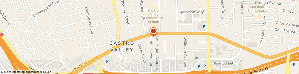 Route/map/directions to Direct Sales Floors, 94546 Castro Valley, 2973 Castro Valley Boulevard