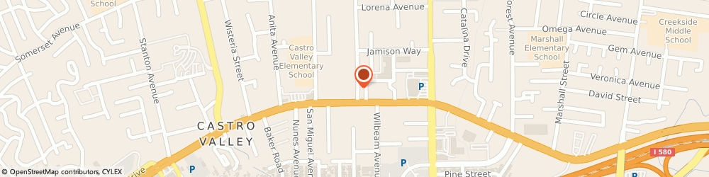 Route/map/directions to Safeco Insurance Agent, 94546-5611 Castro Valley, 20665 Santa Maria Ave