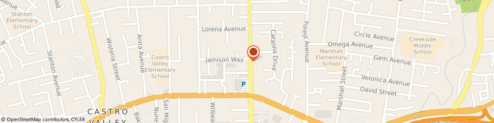Route/map/directions to STATE FARM Dara Chan, 94546 Castro Valley, 20235 Redwood Road