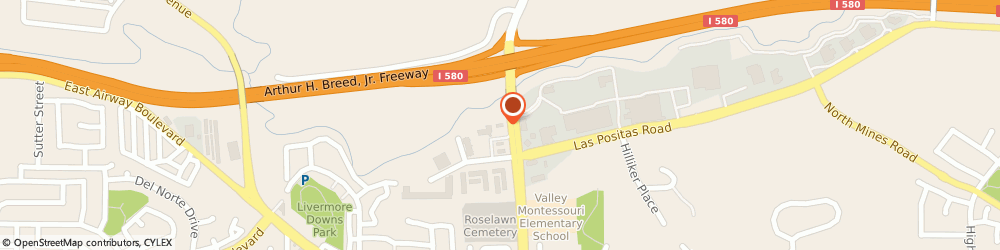 Route/map/directions to Jack in the Box, 94551 Livermore, 1650 N Livermore Ave