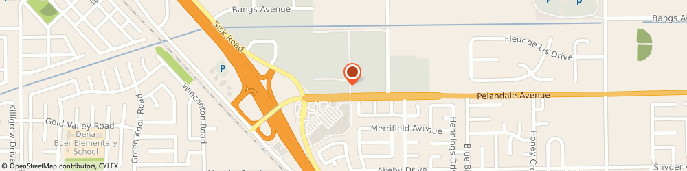 Route/map/directions to Supercuts, 95356 Modesto, 3801 Pelandale Ave