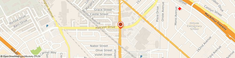 Route/map/directions to 7-Eleven, 94578 San Leandro, 15101 Hesperian Blvd.