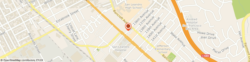 Route/map/directions to 7-Eleven, 94578 San Leandro, 13792 E. 14th St.