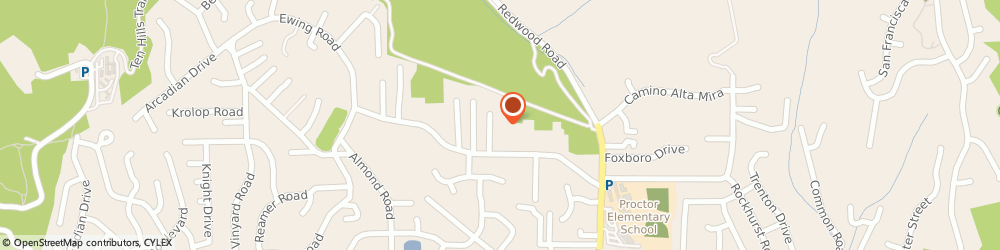 Route/map/directions to Bud Adams Auto Repair, 94546 Castro Valley, 18811 Lake Chabot Rd
