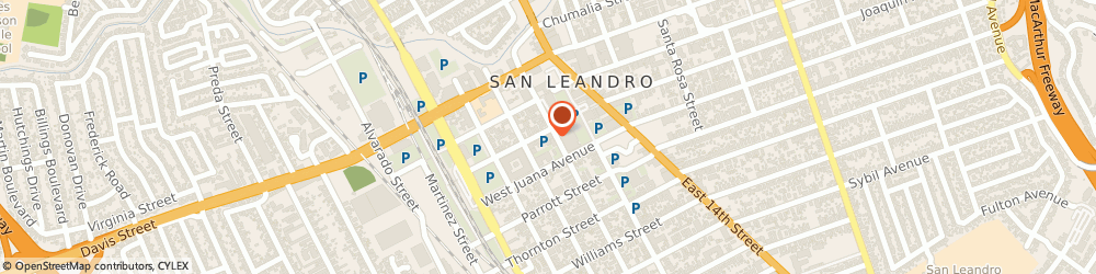 Route/map/directions to HOME INSTEAD, 94577 San Leandro, 303 W Joaquin Ave