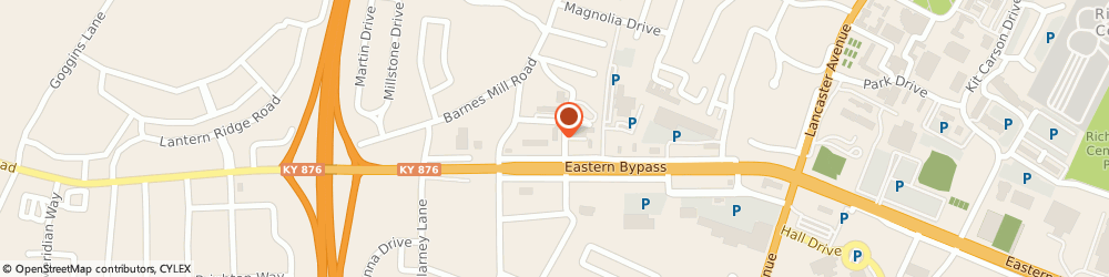 Route/map/directions to Bryon Elkins: Allstate Insurance, 40475 Richmond, 100 Saint George St