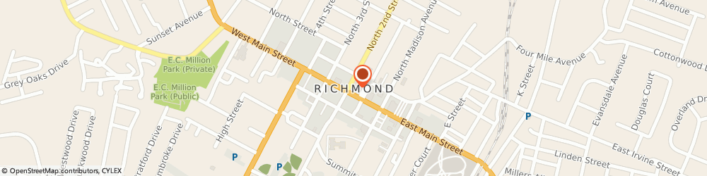 Route/map/directions to Progressive Insurance, 40475 Richmond, 1001 Gibson Bay Drive Suite 201