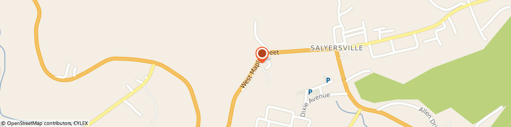 Route/map/directions to Safeco Insurance Agent, 41465-9651 Salyersville, 106 W Maple St