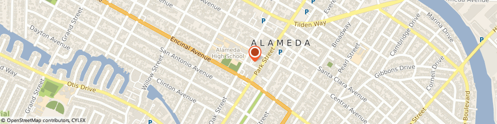 Route/map/directions to Fraternal Order of Eagles, 94501 Alameda, 2305 ALAMEDA AVE