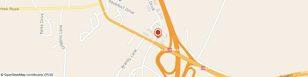 Route/map/directions to Valero RICHMOND, 40475 Richmond, 112 N Keeneland Dr