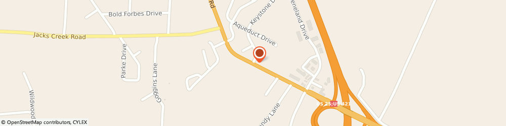 Route/map/directions to Progressive Insurance, 40475 Richmond, 201 Aqueduct B-13