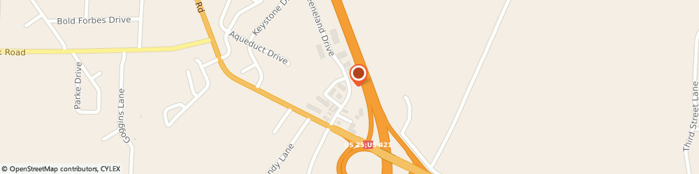Route/map/directions to Erie G L Herndon Insurance Agency Inc., 40475 Richmond, 155 N Keeneland Drive Suite 1