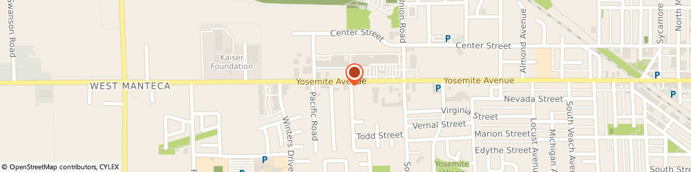 Route/map/directions to Midas, 95336 Manteca, 1412 West Yosemite Avenue