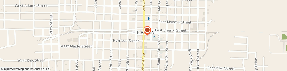 Route/map/directions to Safeco Insurance Agent, 62948-3610 Herrin, 114 S Park Ave