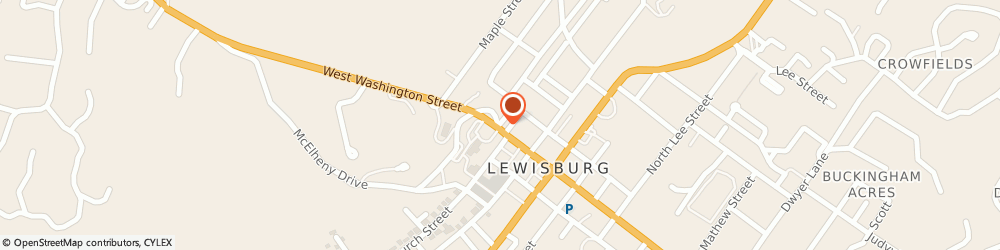 Route/map/directions to Summers Rose Realtor, 24901 Lewisburg, 300 COURTNEY DRIVE