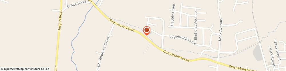 Route/map/directions to Lawn Doctor Of Hardin County, 40175 Vine Grove, STREET
